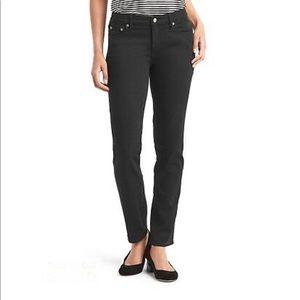 Gap 1969 Real Straight black jeans sz 29